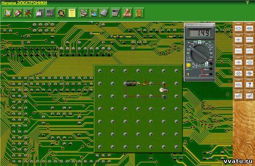 Радиоэлектроника схемы программы